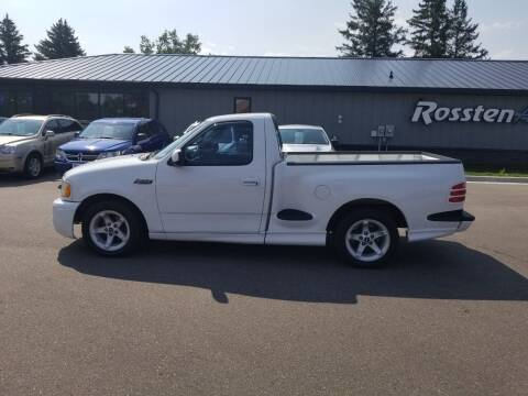 2000 Ford F-150 SVT Lightning for sale at ROSSTEN AUTO SALES in Grand Forks ND