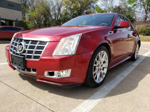 2013 Cadillac CTS for sale at ZNM Motors in Irving TX