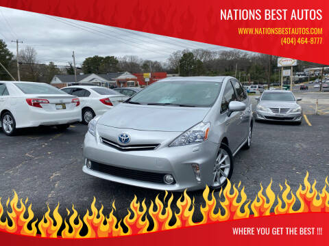 2012 Toyota Prius v for sale at Nations Best Autos in Decatur GA