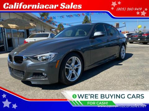 2014 BMW 3 Series for sale at Californiacar Sales in Santa Maria CA