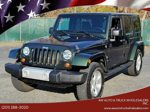 2011 Jeep Wrangler Unlimited for sale at AW Auto & Truck Wholesalers  Inc. in Hasbrouck Heights NJ
