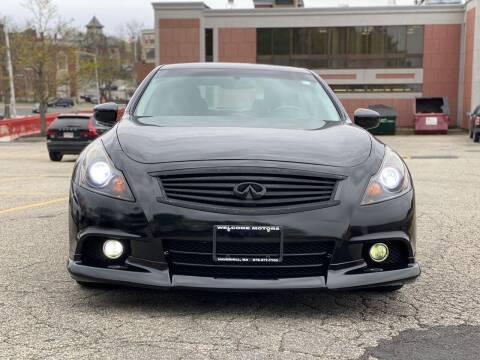 2013 Infiniti G37 Sedan for sale at Welcome Motors LLC in Haverhill MA