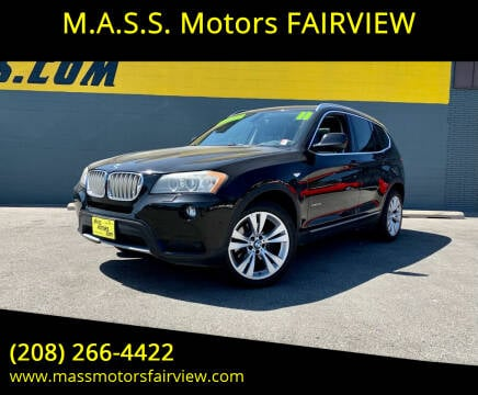 2011 BMW X3 for sale at M.A.S.S. Motors - Fairview in Boise ID