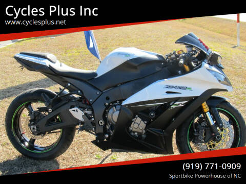 2014 Kawasaki Ninja ZX-10R for sale at Cycles Plus Inc in Garner NC