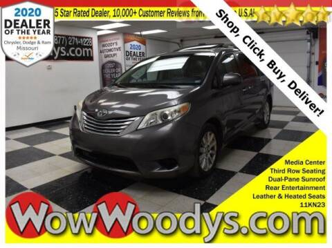 2011 Toyota Sienna for sale at WOODY'S AUTOMOTIVE GROUP in Chillicothe MO