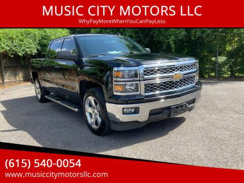 2014 Chevrolet Silverado 1500 for sale at MUSIC CITY MOTORS LLC in Nashville TN