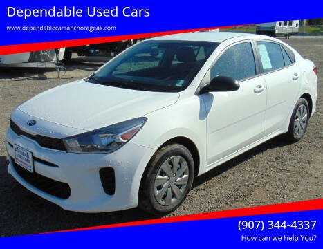 2019 Kia Rio for sale at Dependable Used Cars in Anchorage AK