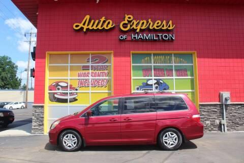 2006 Honda Odyssey for sale at AUTO EXPRESS OF HAMILTON LLC in Hamilton OH