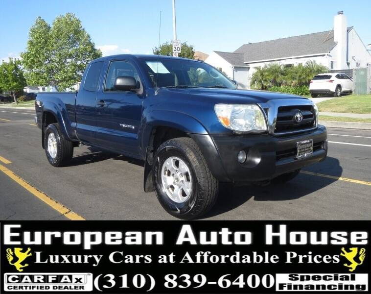 2007 Toyota Tacoma for sale at European Auto House in Los Angeles CA