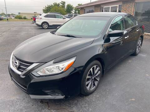 2016 Nissan Altima for sale at Kasterke Auto Mart Inc in Shawnee OK