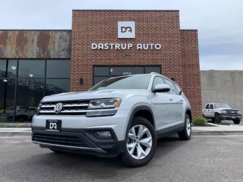 2018 Volkswagen Atlas for sale at Dastrup Auto in Lindon UT