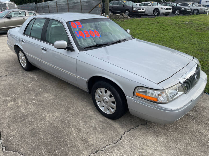 2003 Mercury Grand Marquis for sale at Moye's Auto Sales Inc. in Leesburg FL