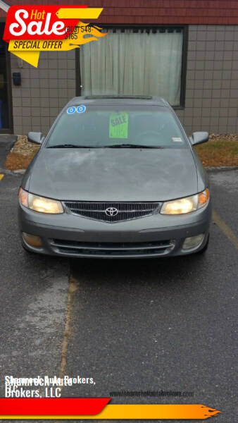 2000 Toyota Camry Solara for sale at Shamrock Auto Brokers, LLC in Belmont NH
