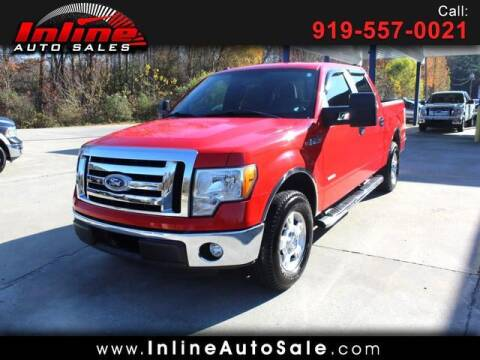 2011 Ford F-150 for sale at Inline Auto Sales in Fuquay Varina NC