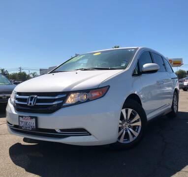 2016 Honda Odyssey for sale at LUGO AUTO GROUP in Sacramento CA