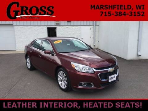 2015 Chevrolet Malibu for sale at Gross Motors of Marshfield in Marshfield WI