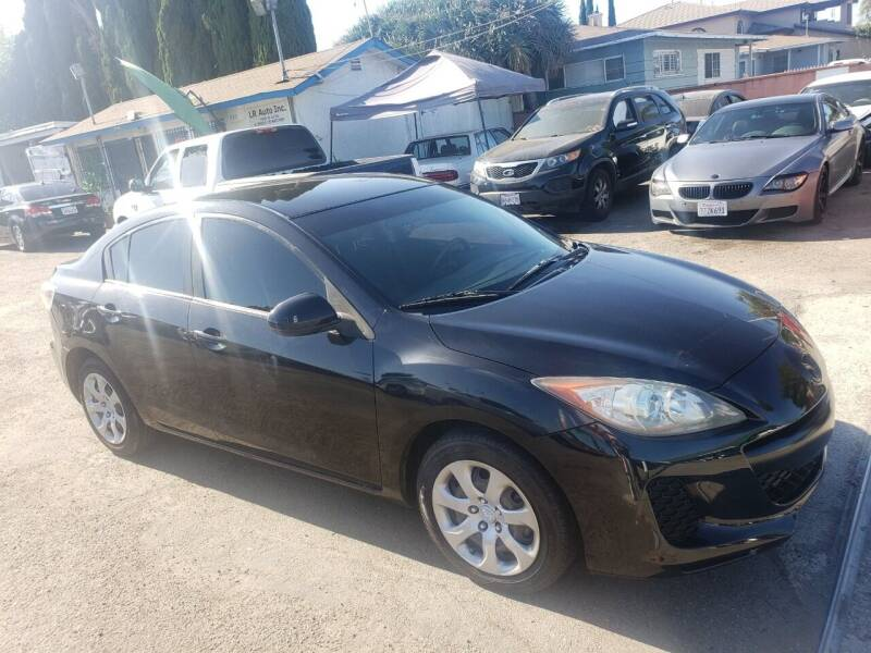 2013 Mazda MAZDA3 for sale at LR AUTO INC in Santa Ana CA