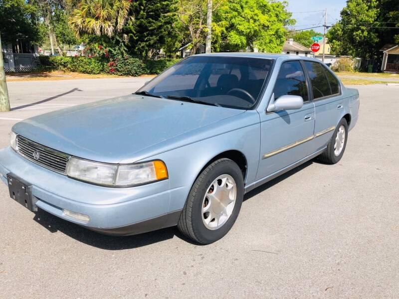 1992 Nissan Maxima for sale at CHECK AUTO, INC. in Tampa FL