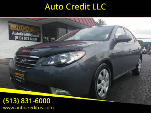 2008 Hyundai Elantra for sale at Auto Credit LLC in Milford OH