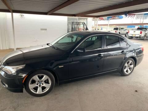 2008 BMW 5 Series for sale at Kann Enterprises Inc. in Lovington NM
