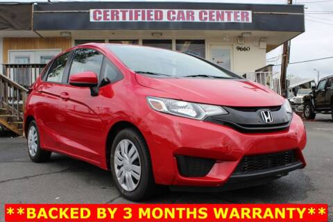 2016 Honda Fit for sale at CERTIFIED CAR CENTER in Fairfax VA