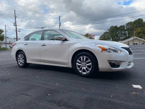 2013 Nissan Altima for sale at GTO United Auto Sales LLC in Lawrenceville GA