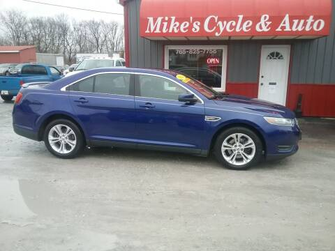 2014 Ford Taurus for sale at MIKE'S CYCLE & AUTO in Connersville IN
