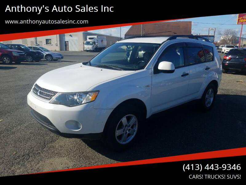 2007 Mitsubishi Outlander for sale at Anthony's Auto Sales Inc in Pittsfield MA