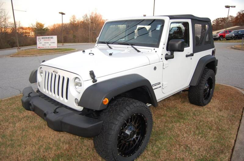 2017 Jeep Wrangler for sale at Modern Motors - Thomasville INC in Thomasville NC