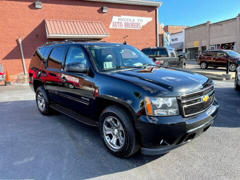 2012 Chevrolet Tahoe for sale at Middle Tennessee Auto Brokers LLC in Gallatin TN