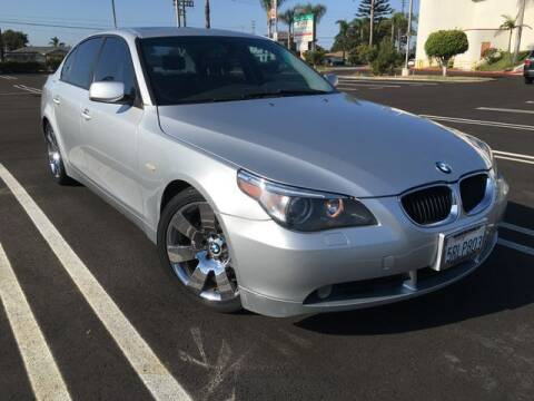 2004 BMW 5 Series for sale at Beach Auto Group LLC in Midway City CA