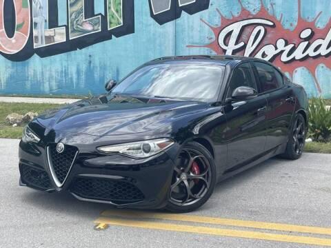 2017 Alfa Romeo Giulia for sale at Palermo Motors in Hollywood FL