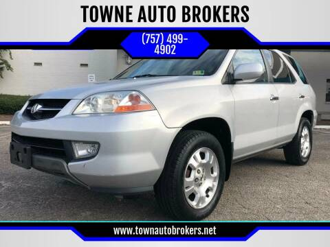 2001 Acura MDX for sale at TOWNE AUTO BROKERS in Virginia Beach VA