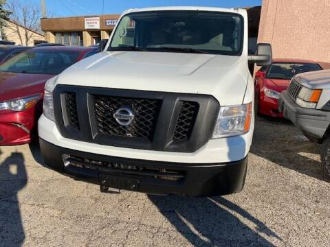 2017 Nissan NV Cargo for sale at NORTH CHICAGO MOTORS INC in North Chicago IL