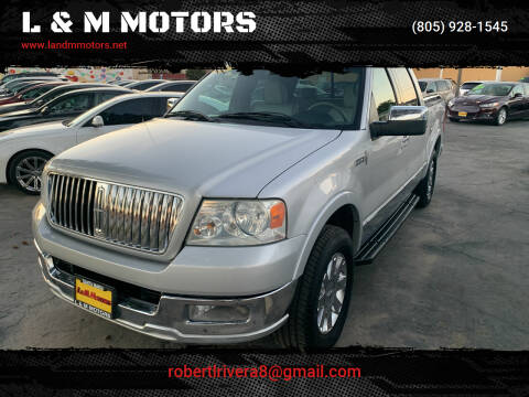 2006 Lincoln Mark LT for sale at L & M MOTORS in Santa Maria CA