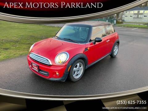 2011 MINI Cooper for sale at Apex Motors Parkland in Tacoma WA