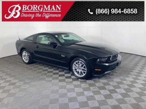 2012 Ford Mustang for sale at BORGMAN OF HOLLAND LLC in Holland MI