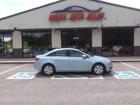 2011 Chevrolet Cruze for sale at DOUG'S AUTO SALES INC in Pleasant View TN