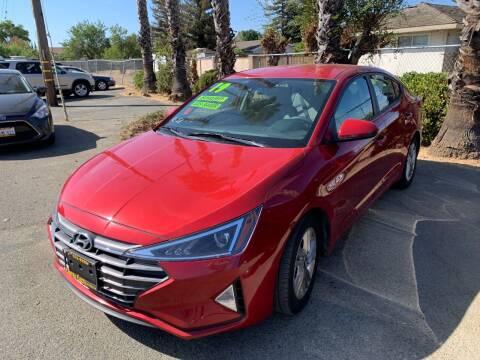 2019 Hyundai Elantra for sale at Contra Costa Auto Sales in Oakley CA