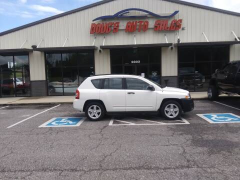 2008 Jeep Compass for sale at DOUG'S AUTO SALES INC in Pleasant View TN