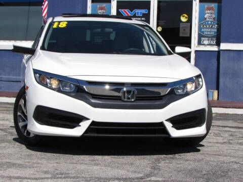 2018 Honda Civic for sale at VIP AUTO ENTERPRISE INC. in Orlando FL