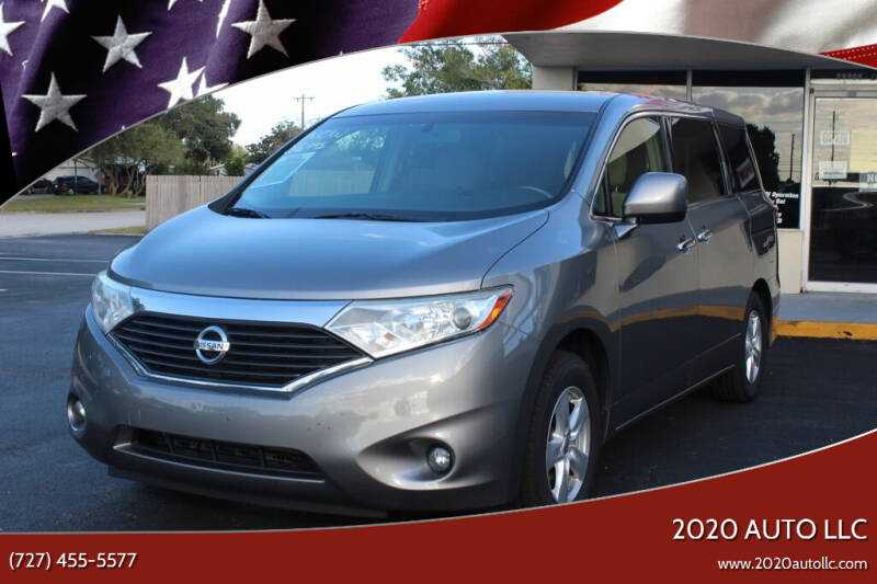 2012 Nissan Quest for sale at 2020 AUTO LLC in Clearwater FL