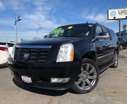 2008 Cadillac Escalade ESV for sale at LUGO AUTO GROUP in Sacramento CA