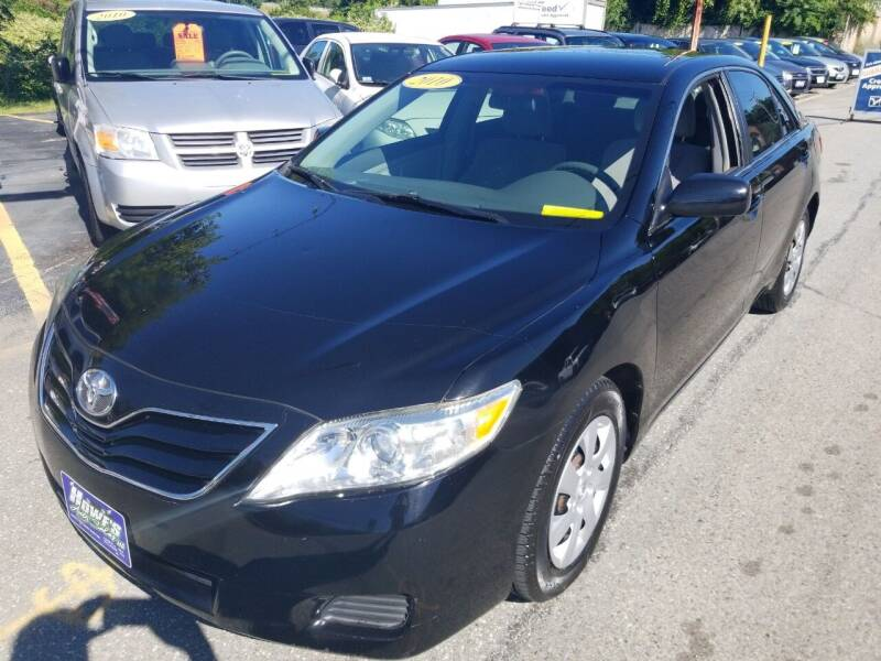 2010 Toyota Camry for sale at Howe's Auto Sales in Lowell MA