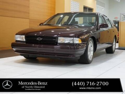 1996 Chevrolet Impala for sale at Mercedes-Benz of North Olmsted in North Olmstead OH