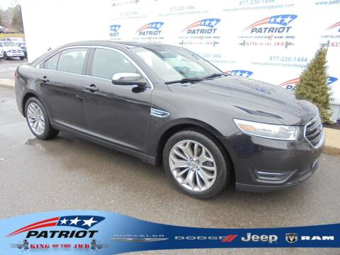 2013 Ford Taurus for sale at PATRIOT CHRYSLER DODGE JEEP RAM in Oakland MD