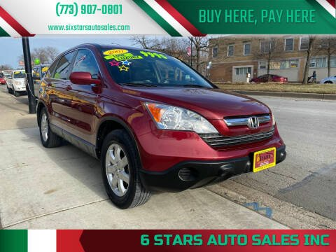 2007 Honda CR-V for sale at 6 STARS AUTO SALES INC in Chicago IL