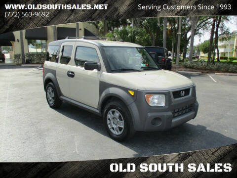 2005 Honda Element for sale at OLD SOUTH SALES in Vero Beach FL