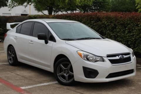 2013 Subaru Impreza for sale at DFW Universal Auto in Dallas TX