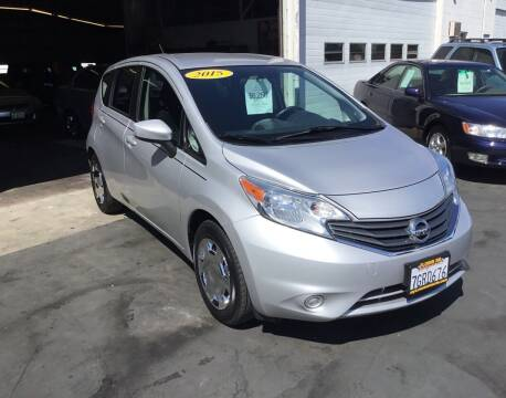 2015 Nissan Versa Note for sale at My Three Sons Auto Sales in Sacramento CA